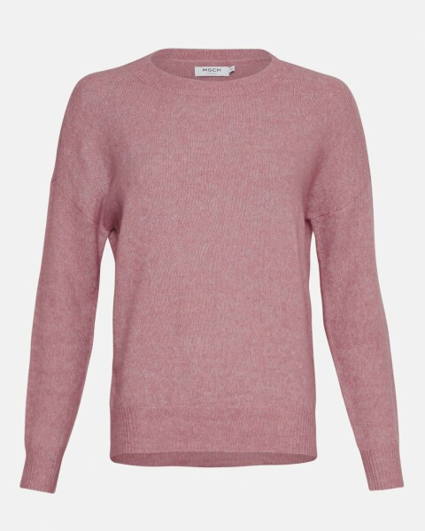Femme Mohair O Pullover 10366-dusty orchid