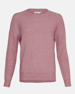 Femme Mohair O Pullover 10366-dusty orchid 1