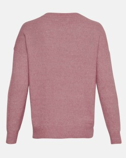 Femme Mohair O Pullover 10366-dusty orchid 2