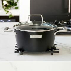 Buon Appetito Casserole Pan With Lid 466680 2