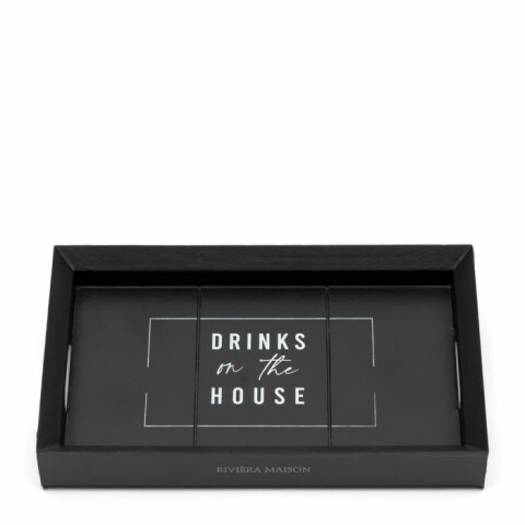 Drinks On The House Mini Tray 19x12 491830