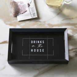 Drinks On The House Mini Tray 19x12 491830 2