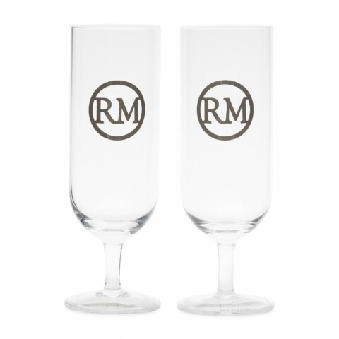 Love RM Beer Glass 2 pieces 47590