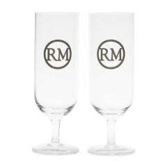 Love RM Beer Glass 2 pieces 47590 1