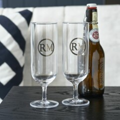 Love RM Beer Glass 2 pieces 47590 2