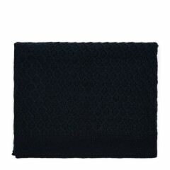 RM Knitted Cable Throw 180x130 blue 481980 1