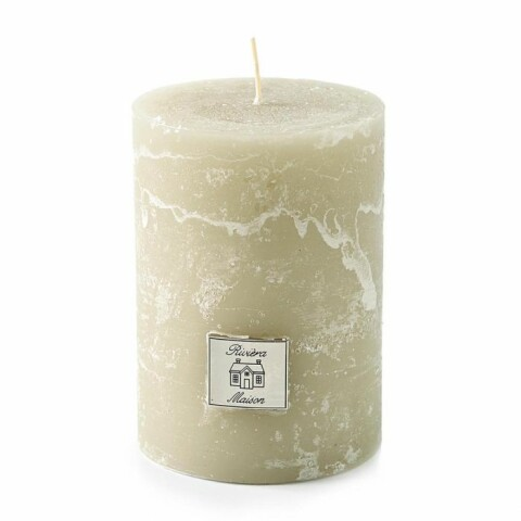 Rustic Candle desert sand 7x10 315950