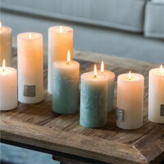 Rustic Candle desert sand 7x13 316110 3