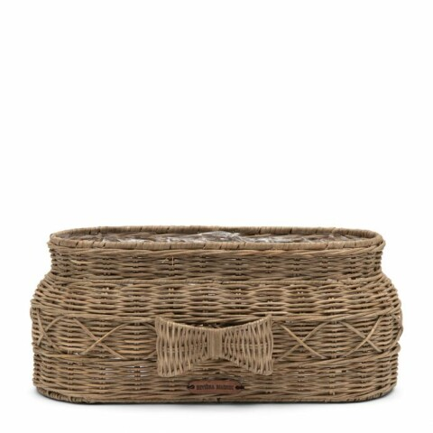 Rustic Rattan Bow Planter Oval 486860