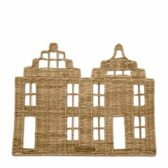 Rustic Rattan Happy Home Placemat 466410 1