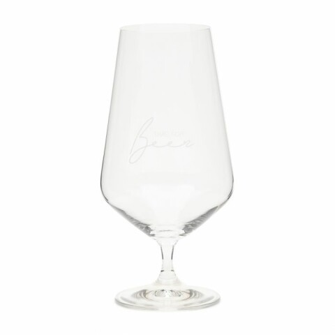 Time For Beer Glass 492440