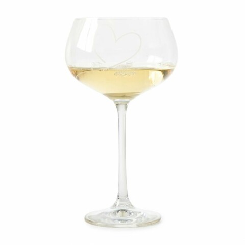 With Love White Wine Glass 477310