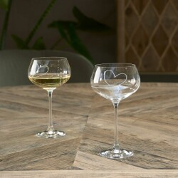 With Love White Wine Glass 477310 3