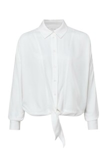 Boxy botton blouse with tie deatail 1101253-123 2