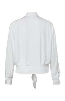 Boxy botton blouse with tie deatail 1101253-123 3