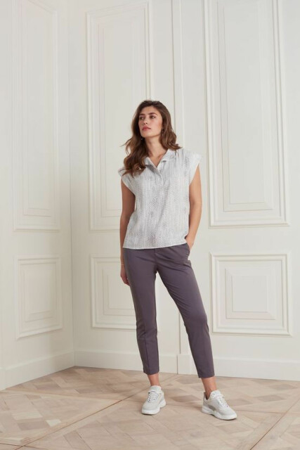 Jersey stretch pant in lyocell blend fabric 1219082