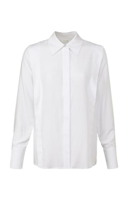 Tailored blouse with shoulder detail 1101245-122